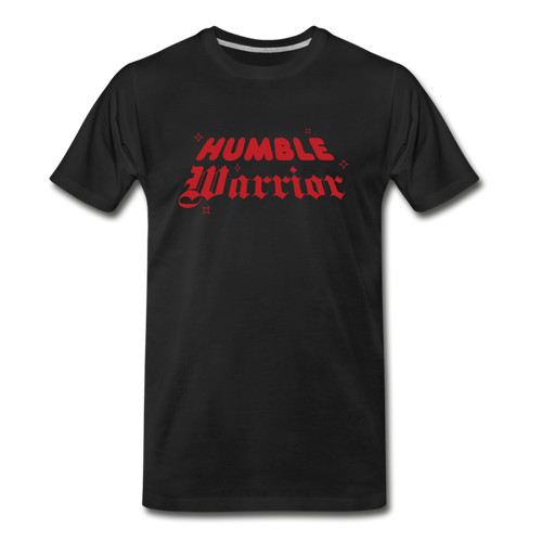 Humble Warrior Sparkle T-Shirt - black