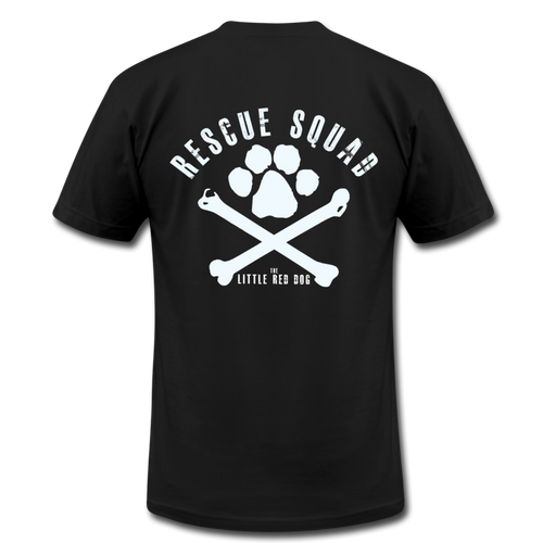 TLRD Rescue Squad T-Shirt (Red or Black) - black