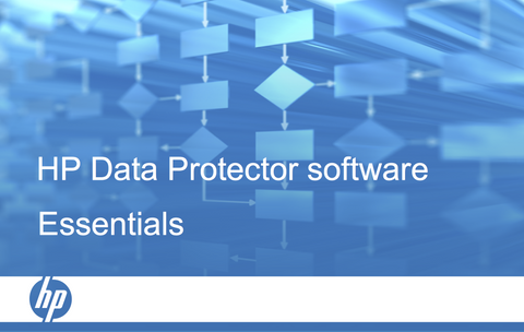 HPE Data Protector Essentials course (certification track) per user