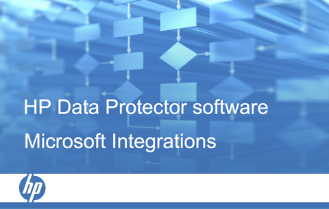HPE Data Protector Microsoft Integrations course (certification track) per user