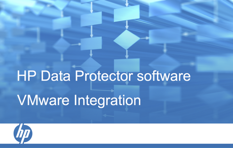 HPE Data Protector VMware Integrations course (certification track) per user