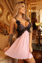 Brandy Lace Embroidery Babydoll
