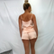 Jenna Satin High Waist PJ Set