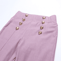 Cece Elastic Waist Pencil Pants