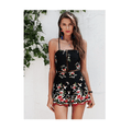 Acadia Lace up Floral Playsuit