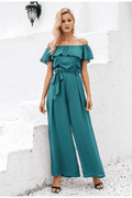 Dahlia Off Shoulder Jumpsuit