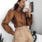 Nicolette Long Puff Sleeve Blouse