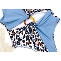 Beatrice Leopard Print High Cut Monokini