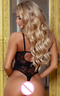 Paulina Strappy Front Lace Teddy