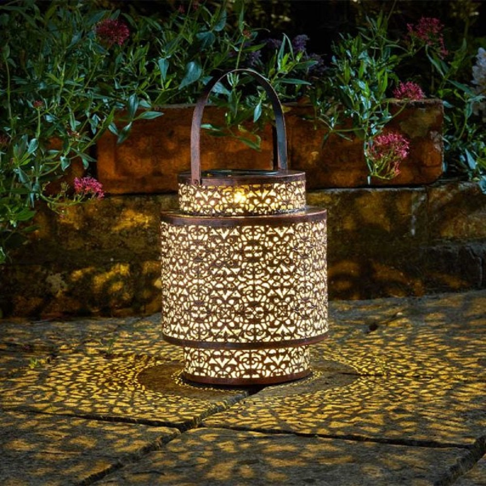 Solar Powered Tangier Lantern