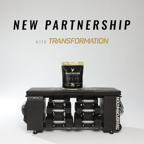 new partnership with transformation protein and fitbench