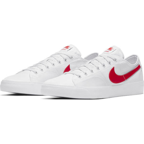 NIKE SB - BLZR COURT - WHITE/UNIVERSITY RED