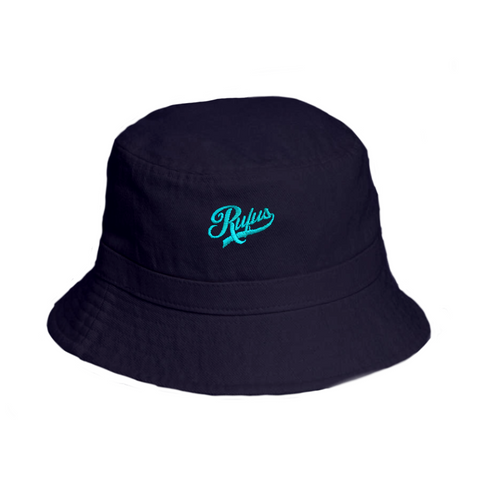 RUFUS - BUCKET HAT - NAVY & SKY BLUE
