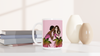 Besties White 15oz Ceramic Mug