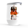 Orange Cheers - Stemless Wine Tumblers