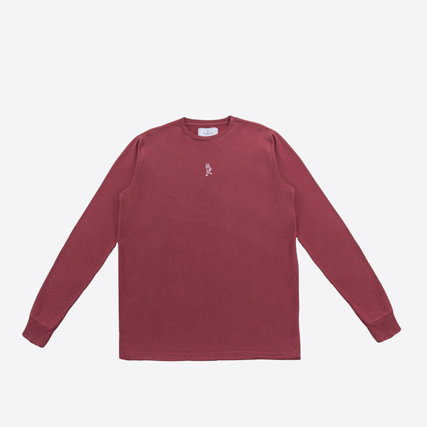 The 'Paperboy' Longsleeve (pommegranate)