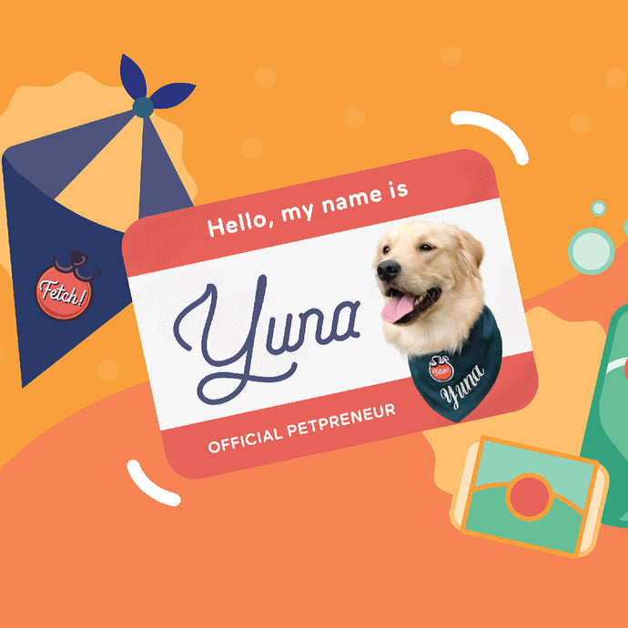 Meet Pampanga's Official Petpreneur Yuna and Her Hooman Luis