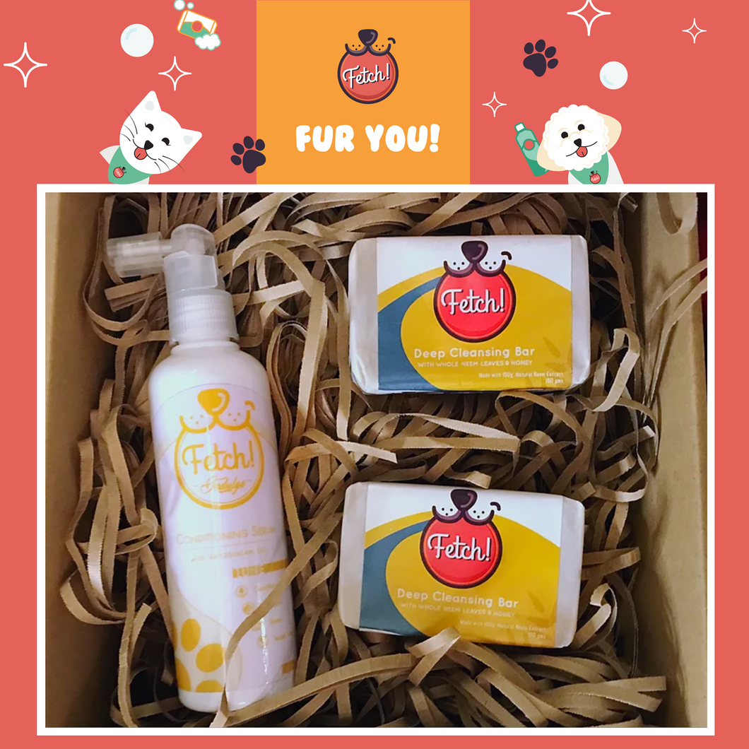Fetch! Naturals Baff and Cuddles Gift Box