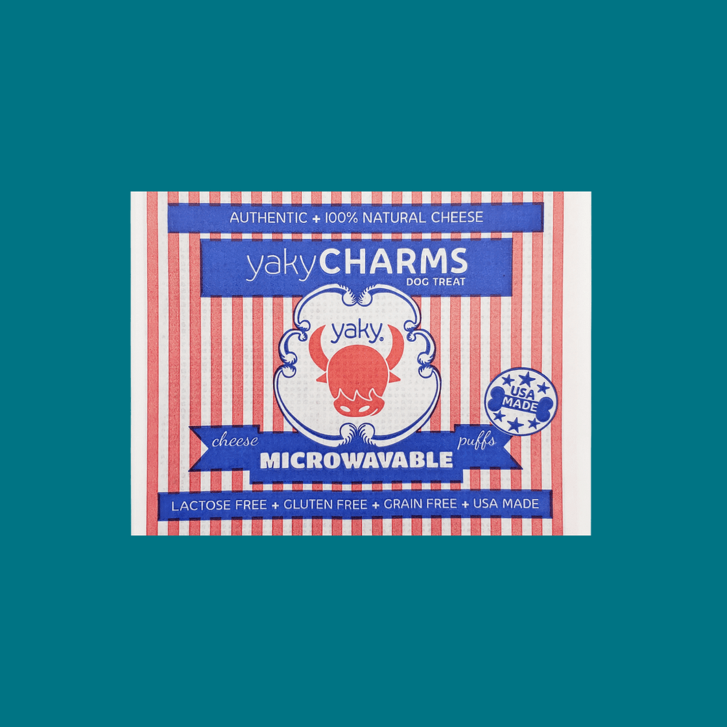 Yaky Charm Popcorn for Dogs