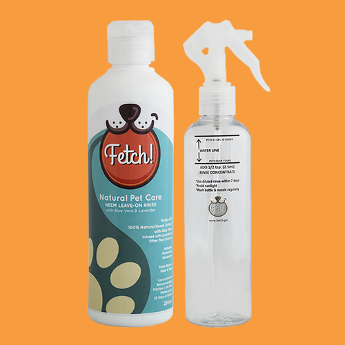 Fetch Naturals Neem Leave-On Rinse
