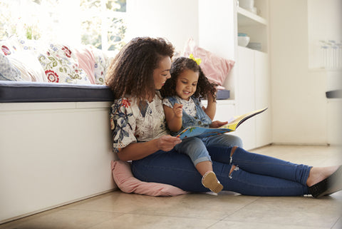 Reading tips for babies and infants