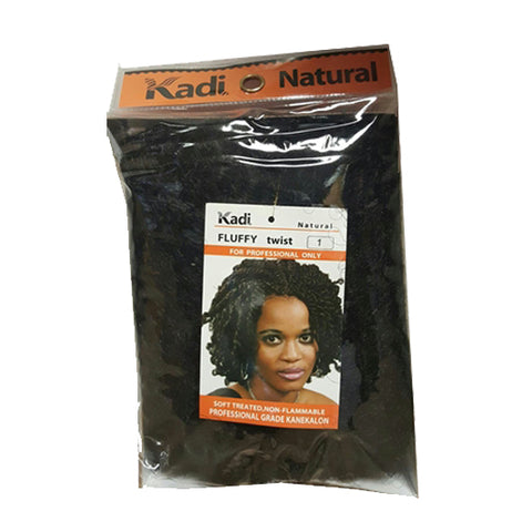 Fluffy Twist by Kadi natural Hair