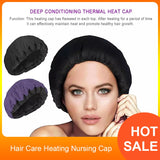 SPA Hair Care Heating Nursing Cap Deep Conditioning