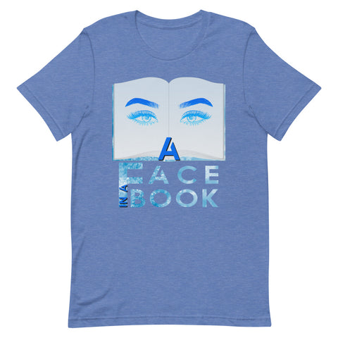 A Face in A Book Short-Sleeve Unisex T-Shirt