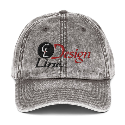 CL Design Vintage Cotton Twill Cap