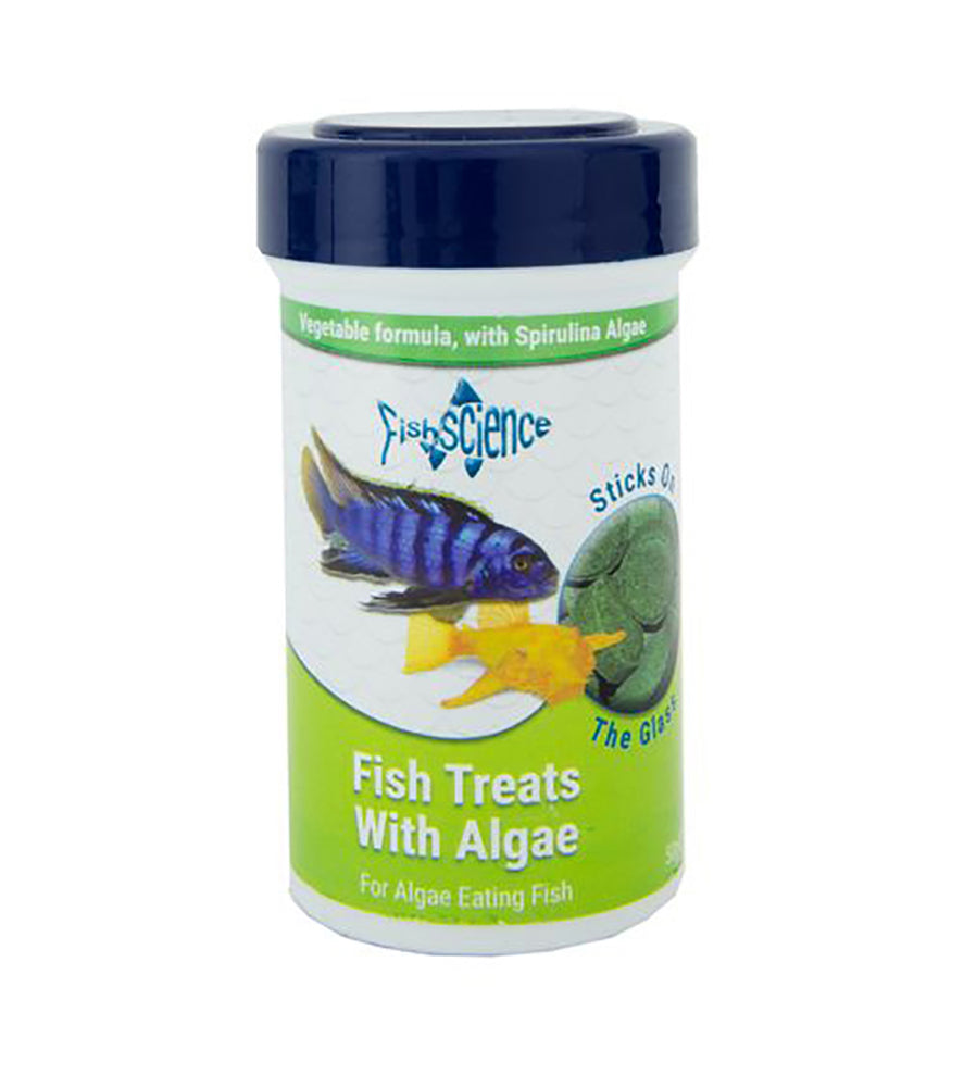 Fish Science Fish Treats with Algae 50g Default Title