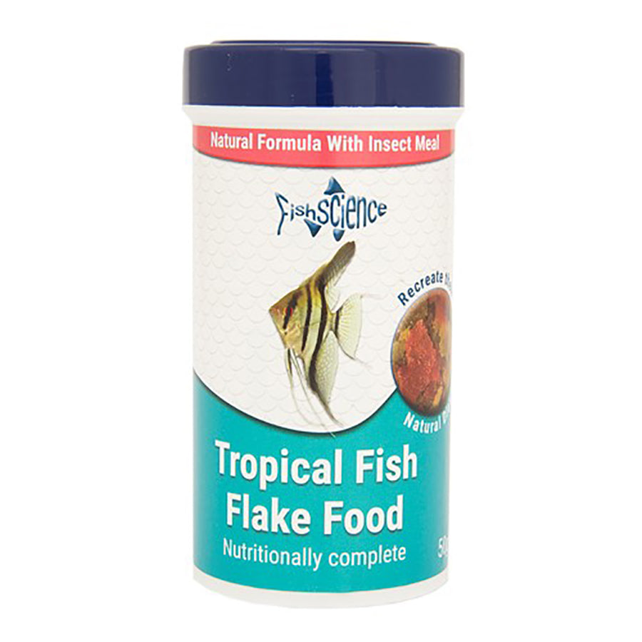 Fish Science Tropical flakes 50g Default Title
