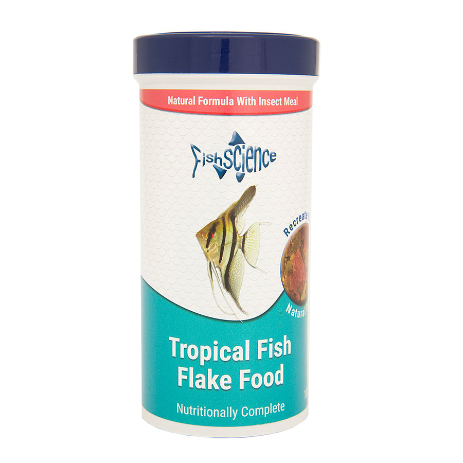 Fish Science Tropical flakes 100g Default Title
