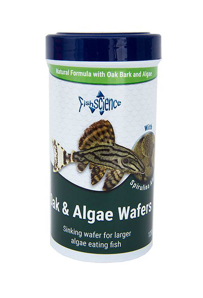 Fish Science Oak and Algae Wafers 120g Default Title