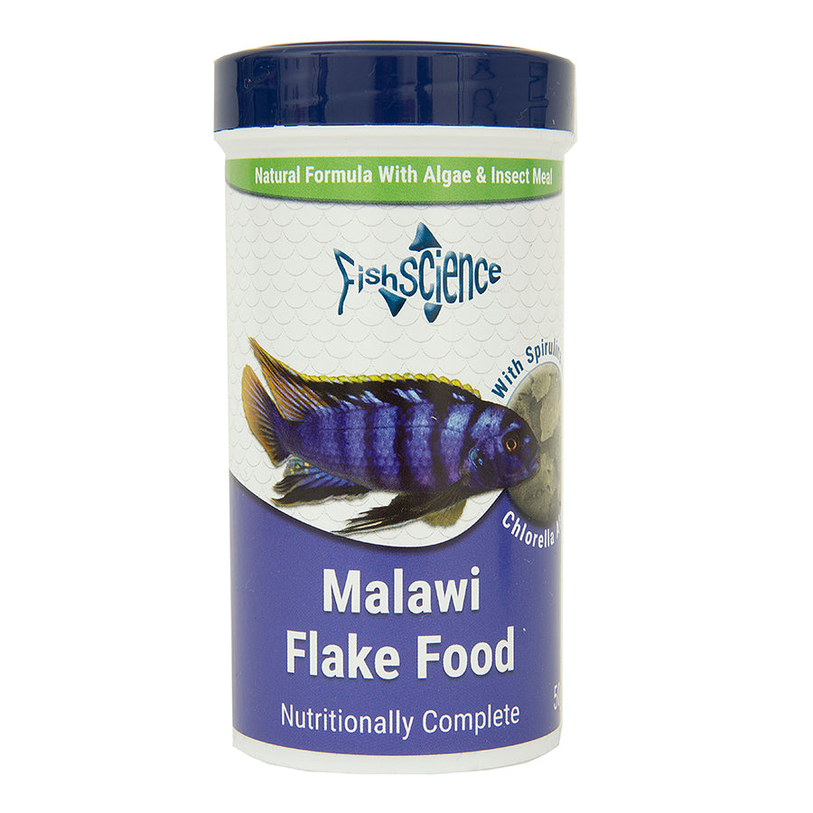 Fish Science Malawi Flake Food 50g Default Title