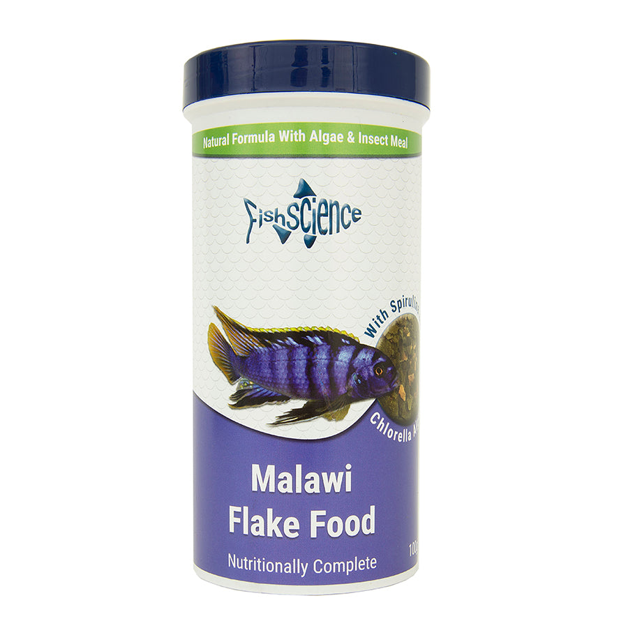 Fish Science Malawi Flake Food 100g Default Title