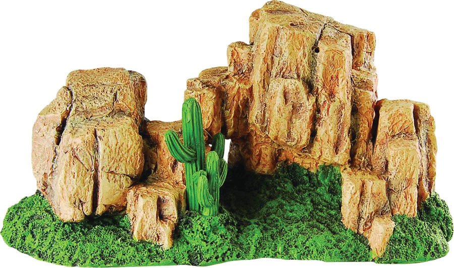RS Rock Hill with Moss 29 x 15 x 14cm Default Title