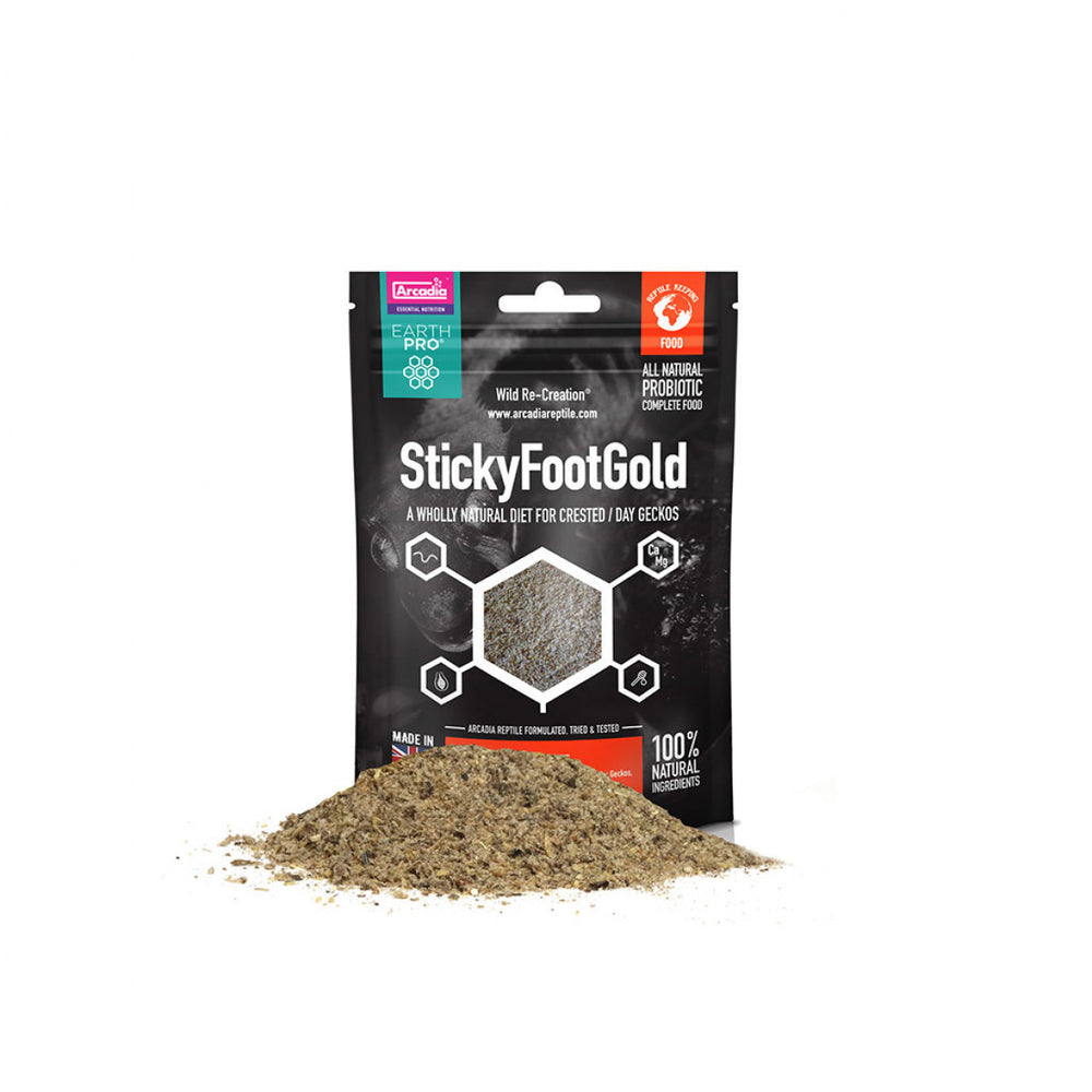 Arcadia Earth Pro Stickyfoot Gold, 50g