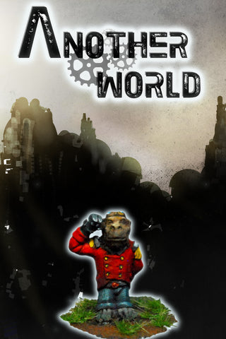 Alfred - Steampunk Monkey Assistant