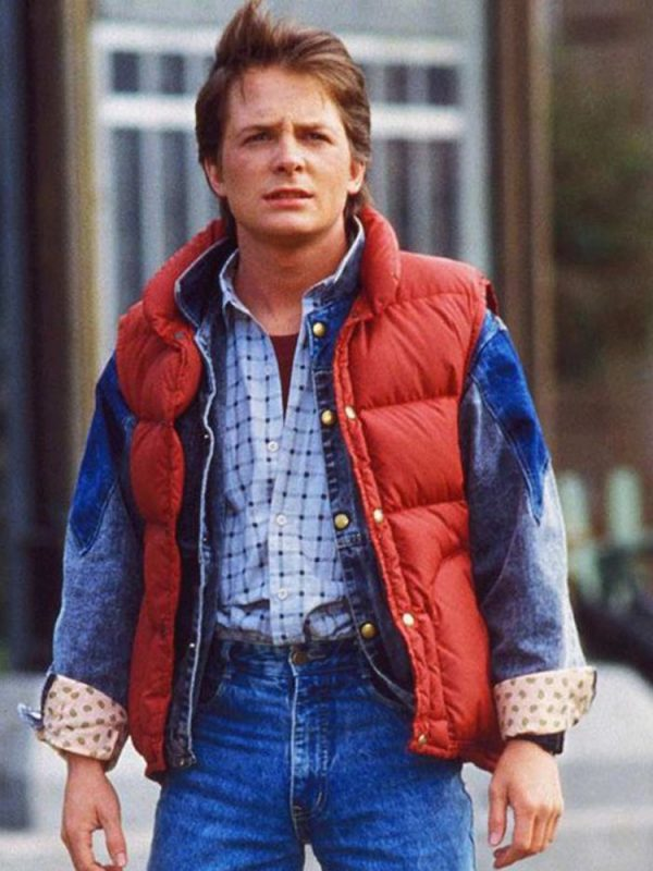 Back To The Future Michael J Fox Vest