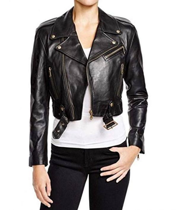 Becky Lynch Black Leather Jacket