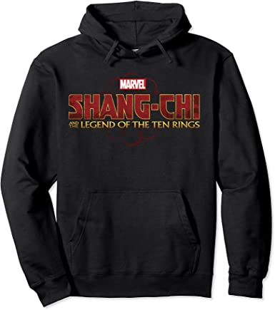 Black Chi And The Legend Of The Ten Rings Logo Pullover Hoodie
