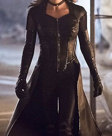 Black Siren Arrow Coat