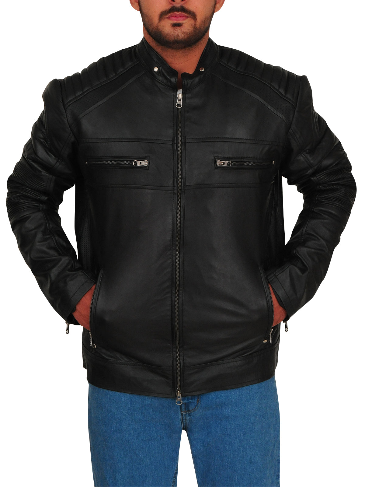 Chuck Clayton Riverdale Cafe Racer Jacket
