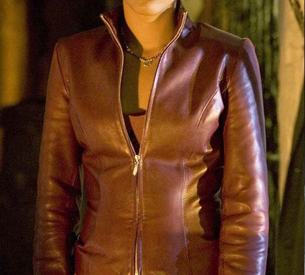 DOCTOR WHO FREEMA AGYEMAN LEATHER JACKET