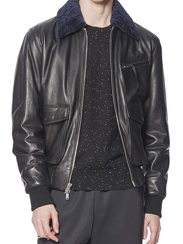 Daft Punk Starboy Weeknd Leather Jacket
