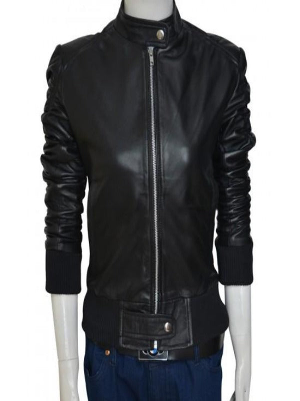 Elena Gilbert The Vampire Diaries Leather Jacket