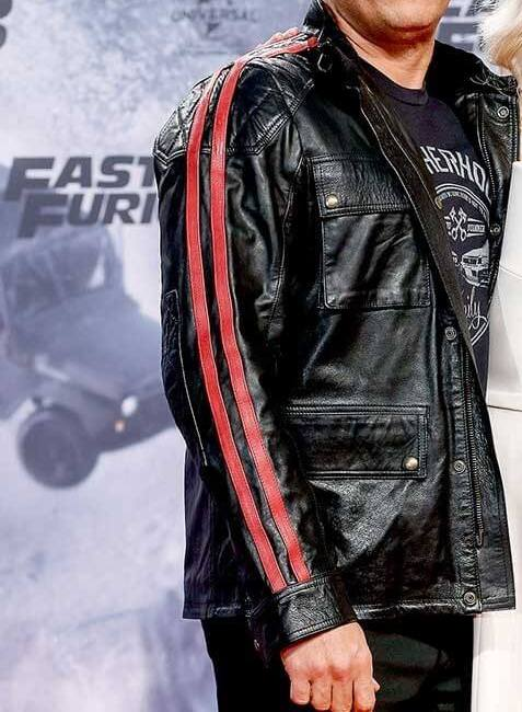 FAST AND FURIOUS 9 VIN DIESEL PREMIERE JACKET