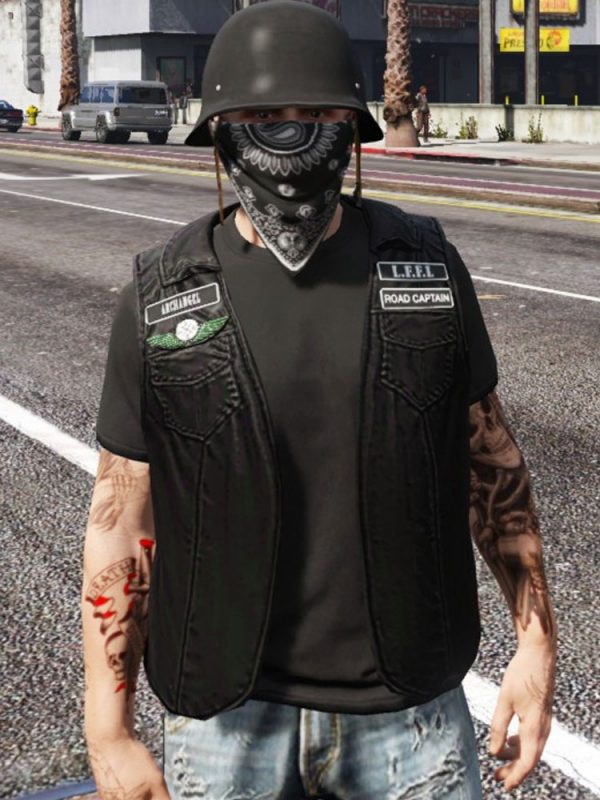 GTA 5 THE LOST MC LEATHER VEST