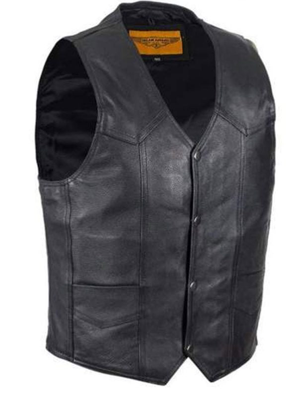 HELLS ANGELS CALIFORNIA MEN'S LEATHER VEST