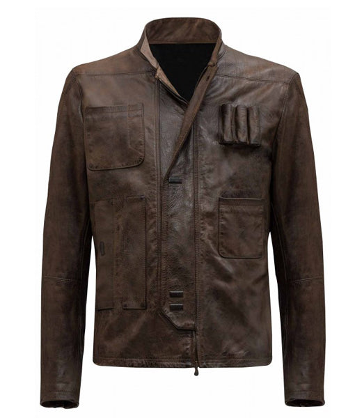 Han Solo Star Wars Leather Jacket